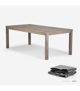 Capri Dining Table - Protective Cover - Grey
