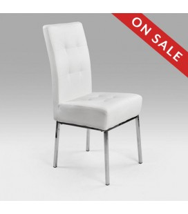 Scarlet Dining Chair White