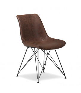 Hapton Dining Chair - Brown -