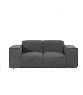 Jagger 2 Seater Couch - Slate -