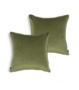 Scatter Cover-Willow Velvet-60x60cm + Scatter Inner-Duck Feather-60x60cm -