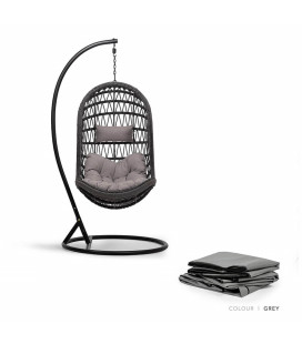 Minali Hanging Chair Protective Cover - Grey -