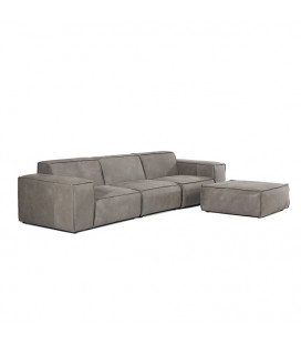 Jagger Leather Modular - Daybed -