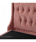 Charlotte Bed - King | Aged Pink