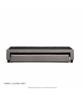 Jupiter Dual Function Kids Bed Base - Single - Alaska Grey -