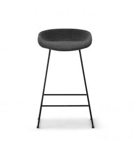 Ashlyn Upholstered Bar Chair - Black -