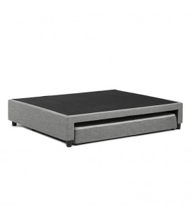 Jupiter Dual Function Bed Base - Double - Fusion Grey -