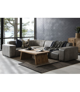 Jagger Leather Modular - Corner Couch Set -