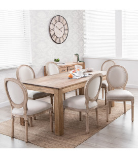 Montreal Olivia 6 Seater Dining Set (1.6m) -
