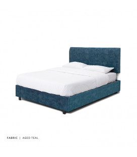 Gemma Bed Combo - Queen - Aged Teal -