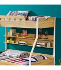 PE-5091 - Kids Double Bunk Bed with Trundle Bed -