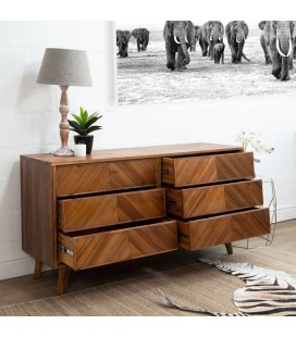Carlisle 6 Drawer Chest Of Drawers for Sale -
