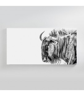 Blue Wildebeest Canvas