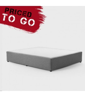 Upholstered bedbase Three Quarter - Sand