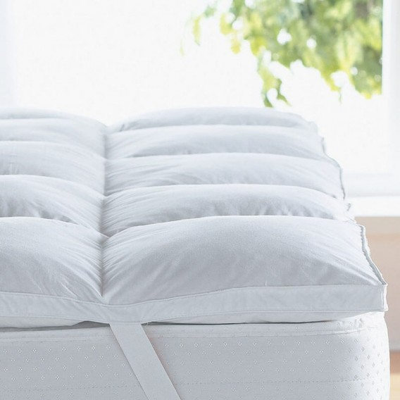 Duck Feather Double Mattress Toppers for Sale -