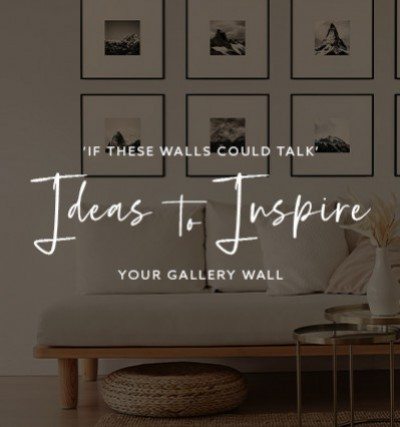 If These Walls Could Talk: Ideas to Inspire Your Gallery Wall